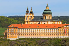 Melk - Famous Baroque Abbey (Stift Melk), Austria Stock Photos