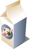 Melk koe stock illustratie
