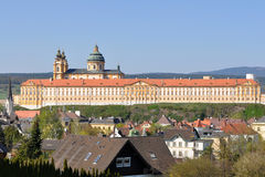 Melk monastery. World heritage abbey in Austria,Europe Royalty Free Stock Image