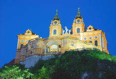 Melk Monastery,Austria Stock Photo