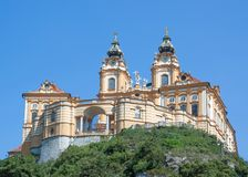 Melk Monastery,Austria Royalty Free Stock Photos