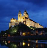 Melk by night Stock Images