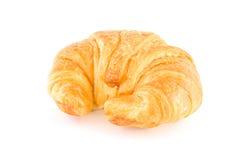 Melk op smaak gebracht croissant Stock Foto
