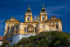 Melk opactwo Austria Fotografia Royalty Free