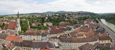 Melk, panorama Royalty Free Stock Photo
