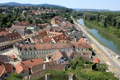 Melk roofs Stock Images