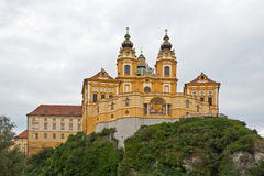 Melk, St. Benedict Abbey Lizenzfreie Stockbilder