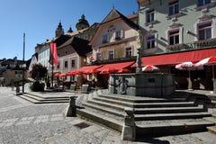 Melk, Wachau, Austria Foto de archivo