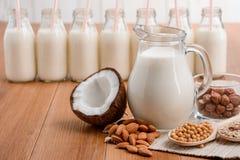 Melk zonder lactose royalty-vrije stock afbeelding