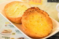 Melkachtig boterbroodje Royalty-vrije Stock Afbeelding