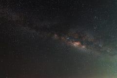 Melkachtige manier op de hemel Stock Afbeeldingen