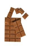 Melkchocola Royalty-vrije Stock Afbeeldingen