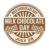 Melkchocoladag, 28 Juli Stock Afbeelding