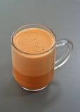 Melken Sie Tee Lizenzfreies Stockfoto