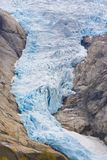 Melkevollbreen Glacier Royalty Free Stock Photography