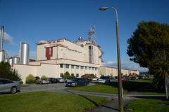 Melkfabriek Royalty-vrije Stock Afbeelding