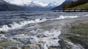 Melkild fjord Fotografia Stock