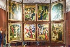 melkpaul peter för abbey kyrklig st Arkivbilder