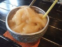 Melkthee smoothie in de Waterkom Stock Foto