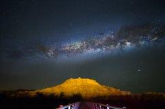Melkweg stock fotografie