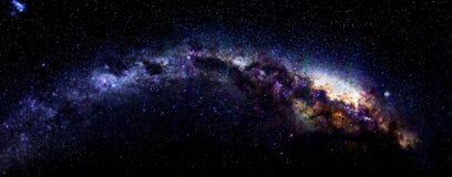 Melkweg in Antarctica Royalty-vrije Stock Fotografie