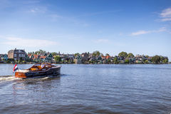 Melkweg-Brücke in Purmerend, die Niederlande Stockfotografie