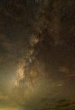 Melkweg in de hemel Royalty-vrije Stock Afbeelding