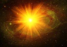 Melkweg in een vrije ruimte royalty-vrije stock afbeeldingen