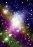 Melkweg in een vrije ruimte royalty-vrije stock fotografie