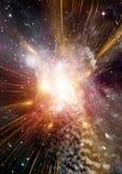 Melkweg in een vrije ruimte stock foto's