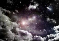 Melkweg in een vrije ruimte stock foto