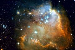 Melkweg en nevels in kosmische ruimte Elementen van dit die beeld door NASA wordt geleverd stock foto's