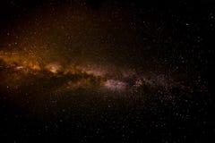 Melkweg over Kijevo, Kroatië Royalty-vrije Stock Foto