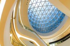 Melkweg SOHO die binnenscène in Peking, China bouwen Stock Foto's
