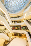 Melkweg SOHO die binnenscène in Peking, China bouwen Royalty-vrije Stock Foto