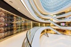 Melkweg SOHO die binnenscène in Peking, China bouwen Royalty-vrije Stock Afbeeldingen