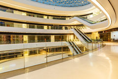 Melkweg SOHO die binnenscène in Peking, China bouwen Royalty-vrije Stock Afbeelding