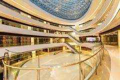 Melkweg SOHO die binnenscène in Peking, China bouwen Stock Afbeeldingen