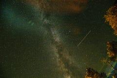 Melkweg Sterrige hemel royalty-vrije stock foto