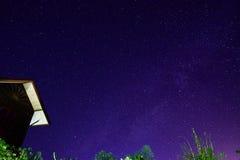 Melkwegmelkweg royalty-vrije stock afbeelding