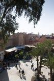 Mellah square Marrakech. Square in Mellah in Marrakech Moroco Royalty Free Stock Image