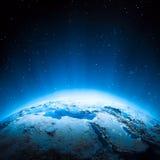 Mellanösten ljus Arkivbilder