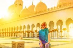 Mellanösten turismconceptque Royaltyfria Foton