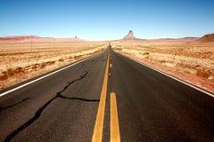 Mellan Arizona och Utah Fotografering för Bildbyråer