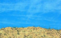 Mellan himmel och jord Royaltyfria Bilder