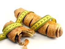 mellanmål för matrullkorv Arkivbild