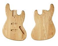 Mellanrumen för byggande gitarrer Royaltyfri Fotografi