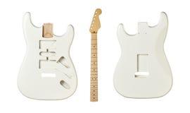 Mellanrumen för byggande gitarrer arkivbild