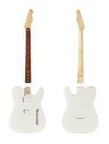 Mellanrumen för byggande gitarrer royaltyfria bilder