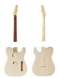 Mellanrumen för byggande gitarrer Fotografering för Bildbyråer